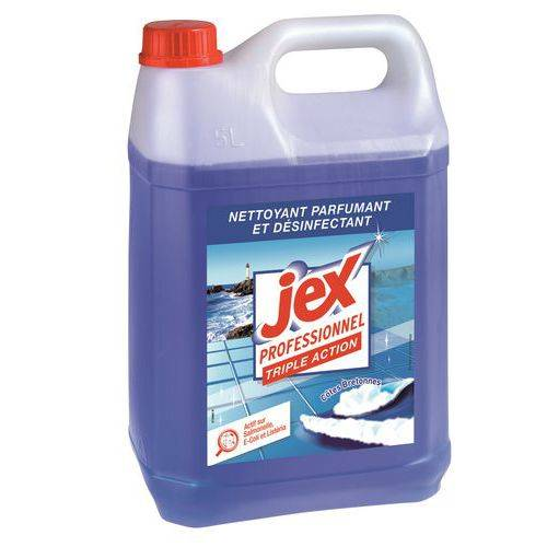 Manutan Nettoyant Désinfectant Triple Action Jex Pro- Bidon 5 L