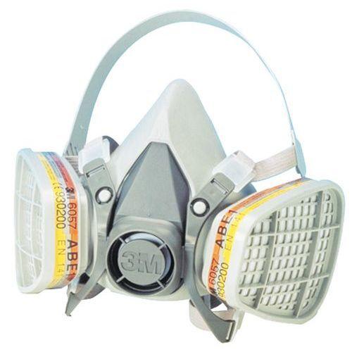 3M Demi-masque Respiratoire Réutilisable Série 6200 Facom