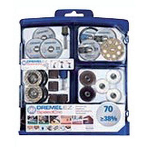 Dremel Kit accessoires multi-usages pour Dremel - 70 pièces