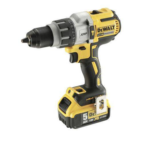 Dewalt Perceuse Visseuse Percussion 18v 5ah Li-ion - Xr