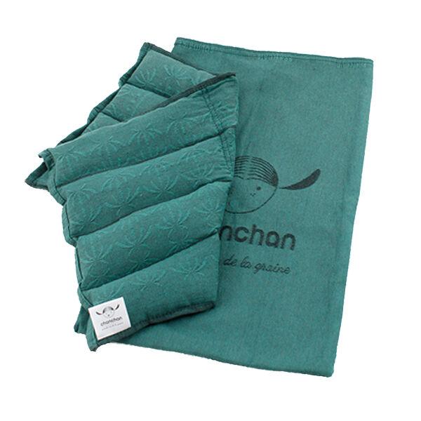 CHANCHAN Coussin/compresse aux graines de chanvre - Chaud & froid