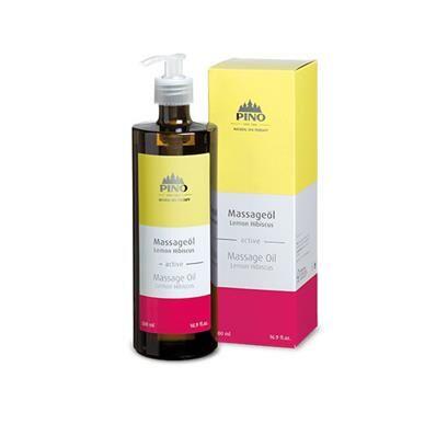 PINO Huile de massage AROMA Citron et Hibiscus