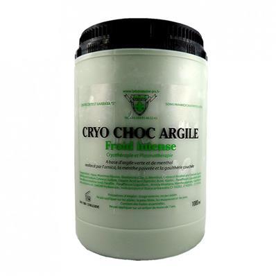 LABORATOIRE JRS Cataplasme Argile Cryo Choc froid intense (1000 mL)