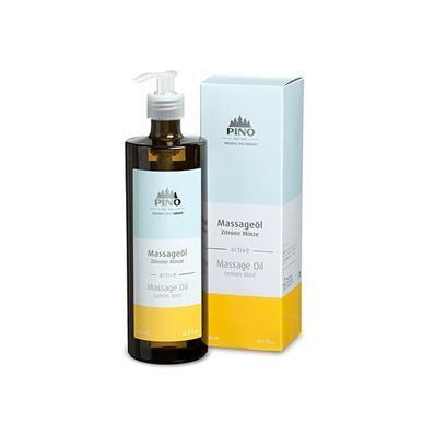 PINO Huile de massage AROMA Citron et Menthe