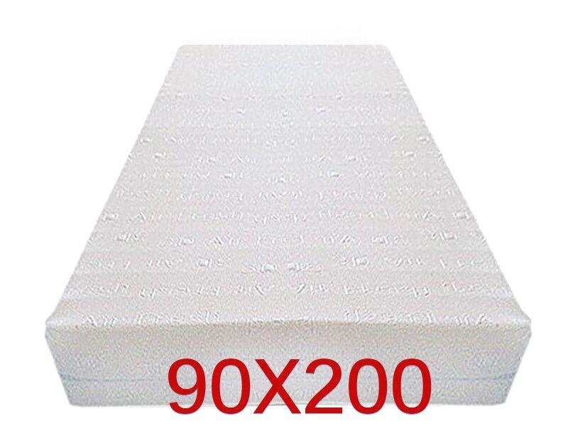 Dinaflex 9 ZONES 90X200, COMPLÈTEMENT DÉHOUSSABLE, 23 CM D'ÉPAISSEUR, ORTHOPÉDIQUE ANALLERGIQUE ET ANTI-ACARIEN, HOUSSE EN 3D AIR FRESH