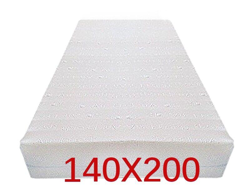 Dinaflex 9 ZONES 140X200, COMPLÈTEMENT DÉHOUSSABLE, 23 CM D'ÉPAISSEUR, ORTHOPÉDIQUE ANALLERGIQUE ET ANTI-ACARIEN, HOUSSE EN 3D AIR FRESH