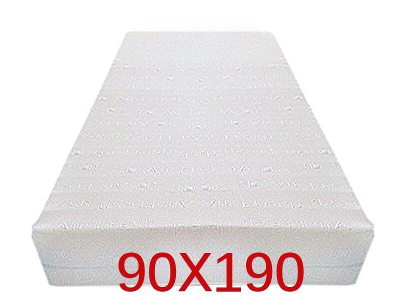 Dinaflex 9 ZONES 90X190, COMPLÈTEMENT DÉHOUSSABLE, 23 CM D'ÉPAISSEUR, ORTHOPÉDIQUE ANALLERGIQUE ET ANTI-ACARIEN, HOUSSE EN 3D AIR FRESH