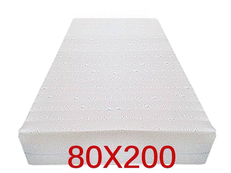 Dinaflex 9 ZONES 80X200, COMPLÈTEMENT DÉHOUSSABLE, 23 CM D'ÉPAISSEUR, ORTHOPÉDIQUE ANALLERGIQUE ET ANTI-ACARIEN, HOUSSE EN 3D AIR FRESH