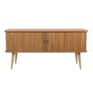 Zuiver BARBIER - Buffet/meuble TV en bois naturel Naturel - Publicité
