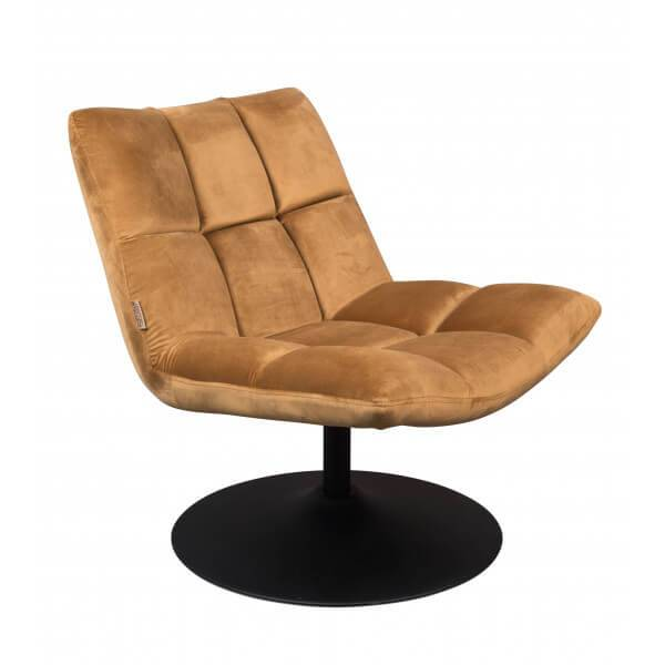 Dutchbone Fauteuil Lounge or Or