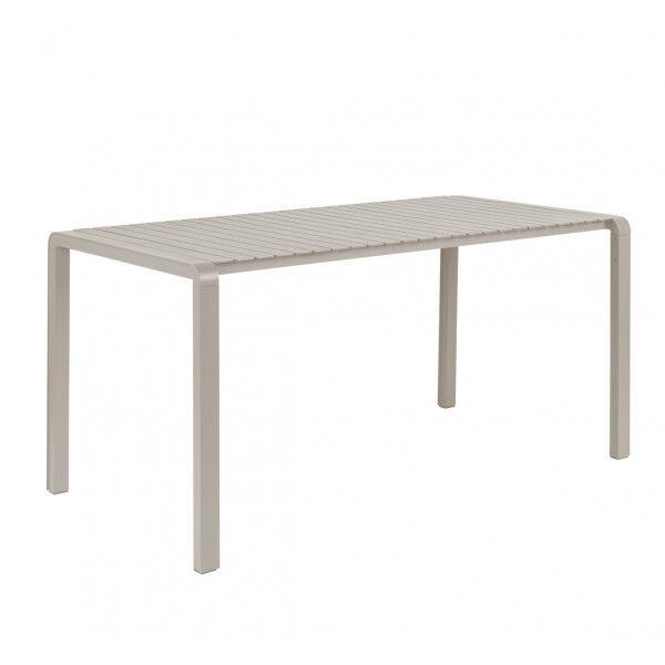 Zuiver VONDEL - Table de jardin en aluminium Argile Marron clair 0.000000