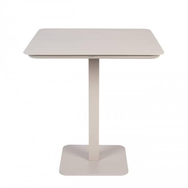 Zuiver VONDEL - Table repas d'extérieur Argile L71 Creme