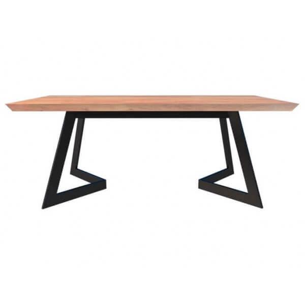 MATHI DESIGN ANTONIO - Table repas chêne massif