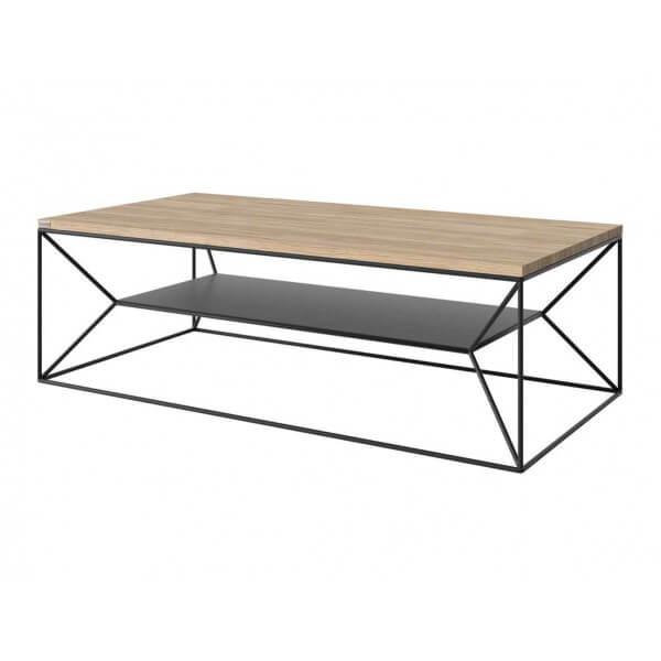 MATHI DESIGN OLAWA - Table de salon Noir