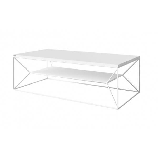 MATHI DESIGN OLAWA - Table basse blanc