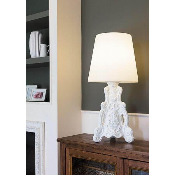 Slide Lampe Lady of Love Slide Blanc