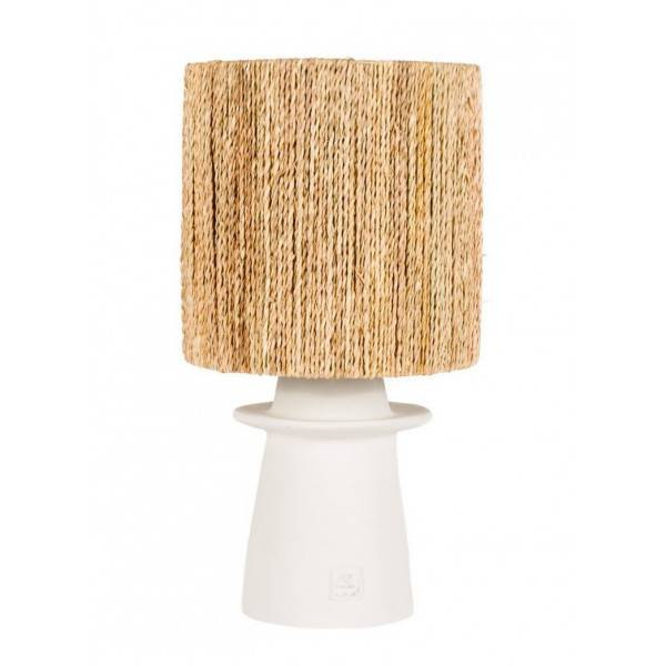 Rock the Kasbah CORDE - Lampe à poser blanche Blanc