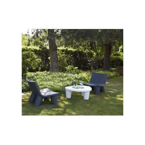 Slide LOW LITA - Salon de jardin Slide Multicolore
