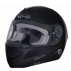 Stormer Casque intégral moto stormer hades avec bluetooth intégré uni noir tai - Publicité