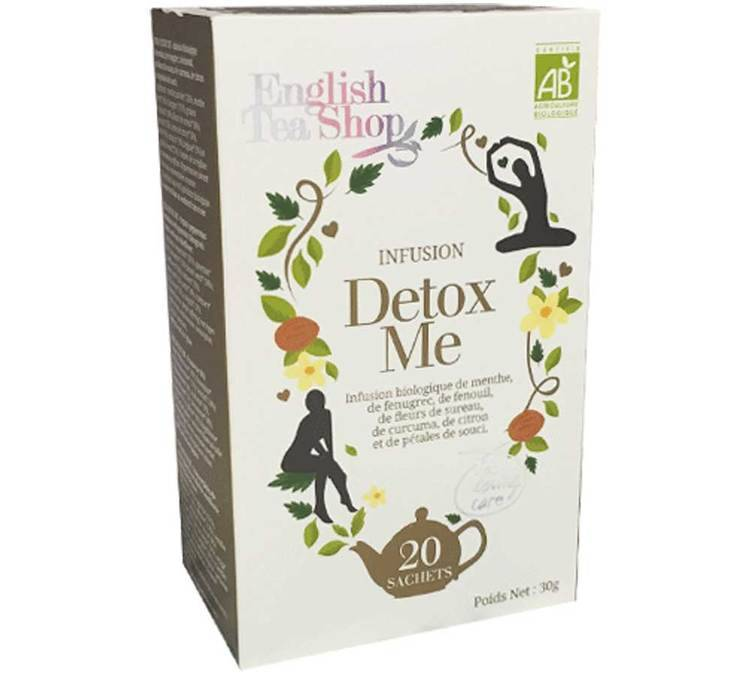 English Tea Shop Tisane Detox me - 20 sachets - English Tea Shop