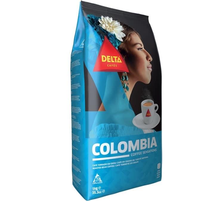 Delta Cafés Café en grain Colombia Delta Café - 1kg