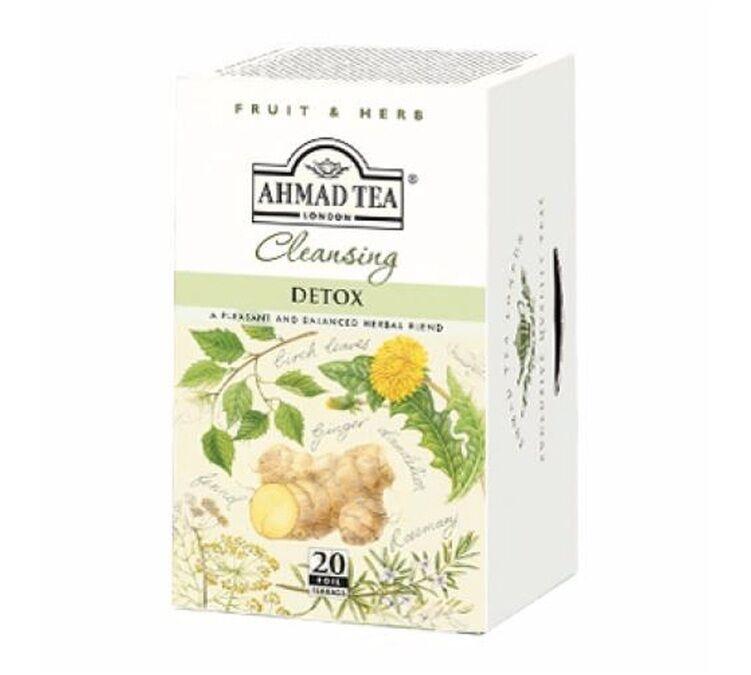Ahmad Tea Infusions Detox - 20 sachets fraicheurs - Ahmad tea