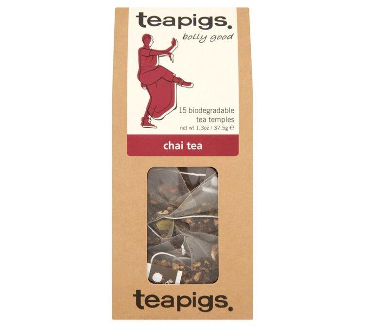 Teapigs Thé noir Chaï - 15 sachets mousselines - Teapigs