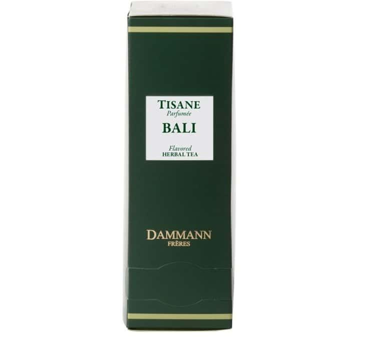 Dammann Frères Tisane Bali - 24 sachets cristal - Dammann Frères
