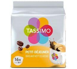 Tassimo Dosettes Tassimo Petit Déjeuner Classique - 16 T-Discs