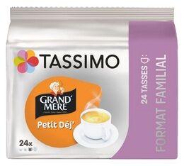 Tassimo Dosettes Tassimo Grand'Mère Petit Déjeuner format familial - 24 T-Discs