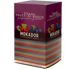 Mokador Castellari Dosettes ESE de Tisane aux fruits des bois - Boîte de 25