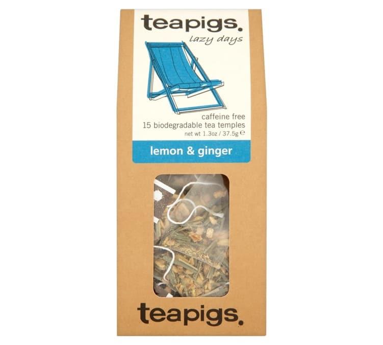 Teapigs Infusion Citron Gingembre - 15 sachets mousselines - Teapigs