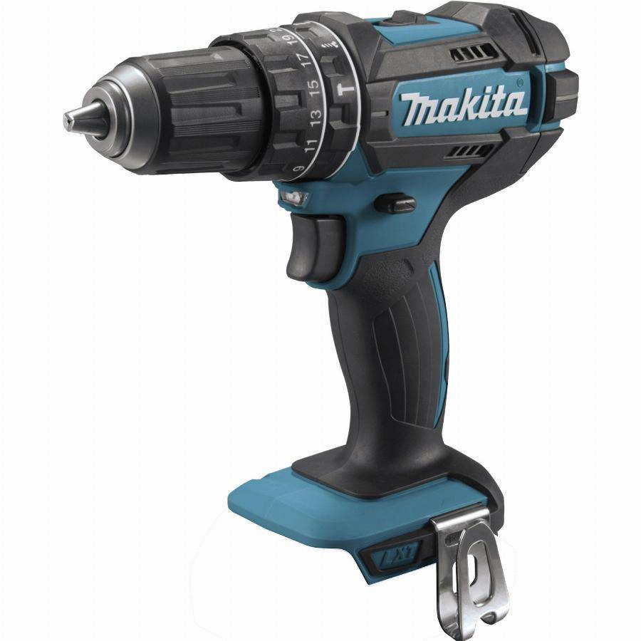 Makita Perceuse visseuse à percussion 18 V Li-Ion Ø 13 mm MAKITA - Sans batterie, ni chargeur - DHP482Z
