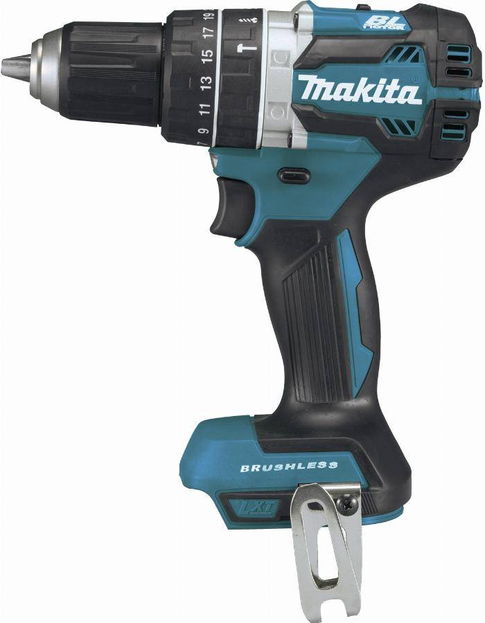 Makita Perceuse visseuse à percussion 18 V Li-ion Ø 13 mm MAKITA - Sans batterie, ni chargeur - DHP484Z