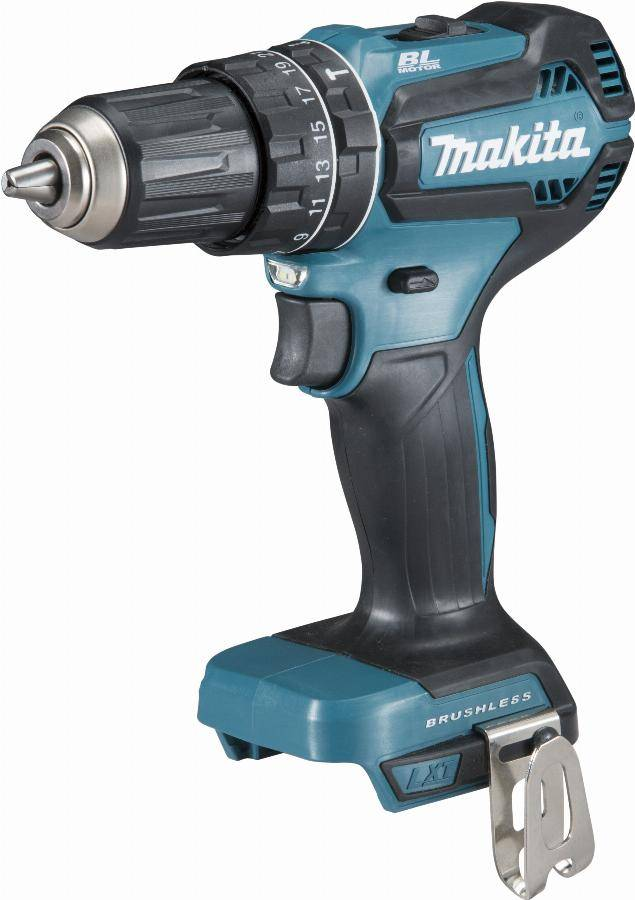 Makita Perceuse visseuse à percussion 18 V Li-Ion Ø 13 mm MAKITA - Sans batterie, ni chargeur - DHP485ZJ