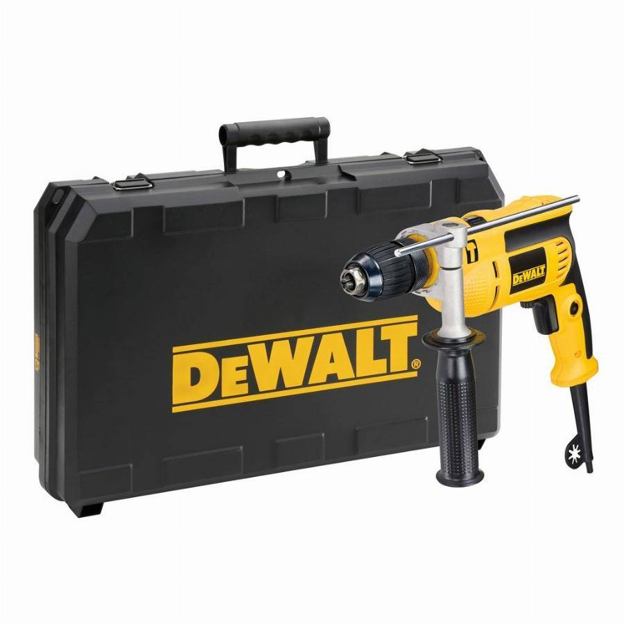 DeWalt Perceuse à percussion DEWALT - 650W 13MM - DWD024KS
