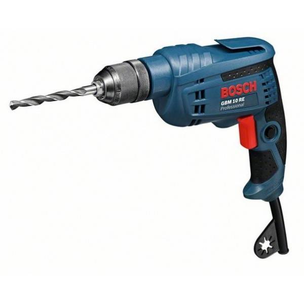 Bosch Perceuse-visseuse 1 vitesse BOSCH - GBM 10 RE Professional - 600 W - 0601473600