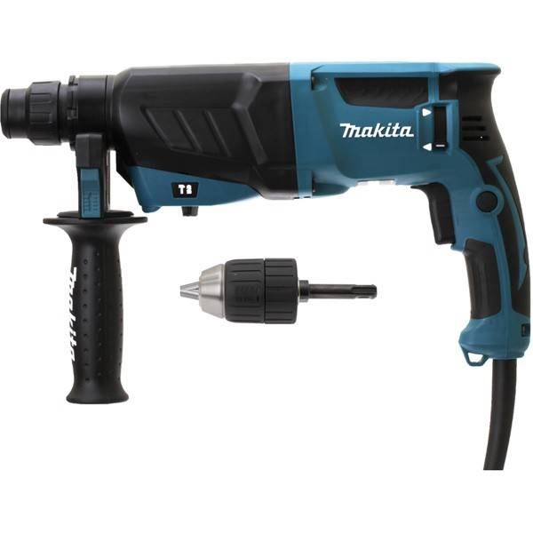 Makita Perforateur burineur MAKITA SDS-Plus - 800W avec mandrin autoserrant - HR2630X7