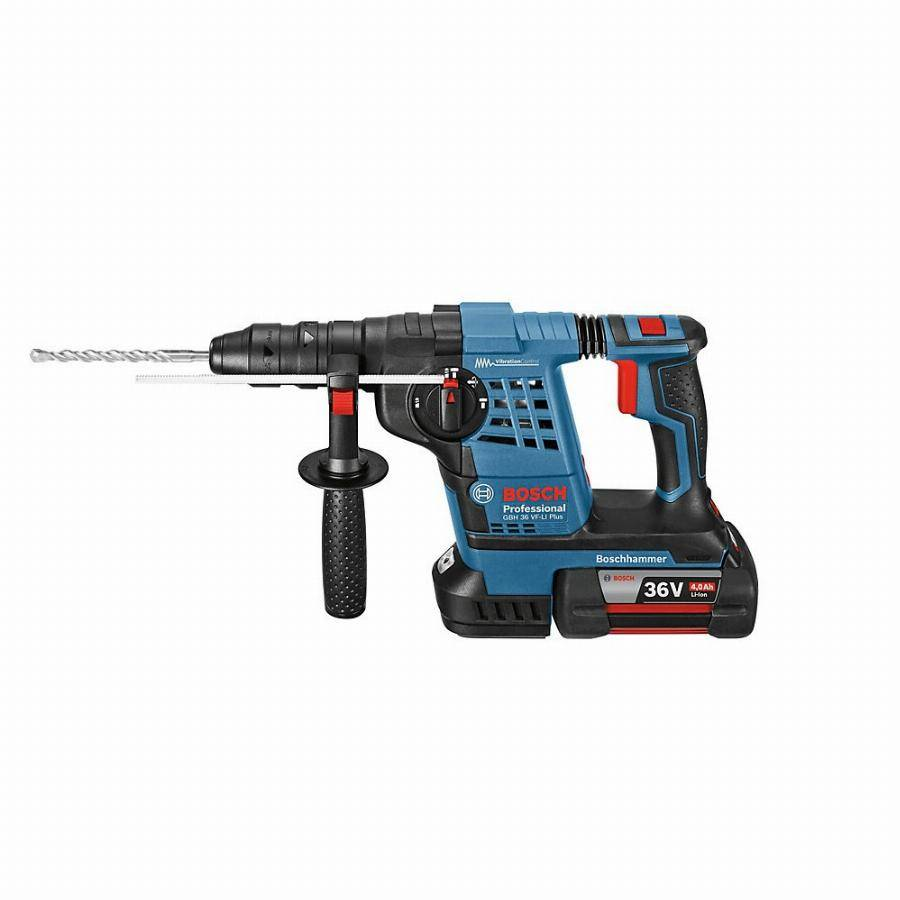 Bosch Perforateur BOSCH GBH 36VF-Li 4.0Ah en coffret + 2 batteries, chargeur - 0611907002