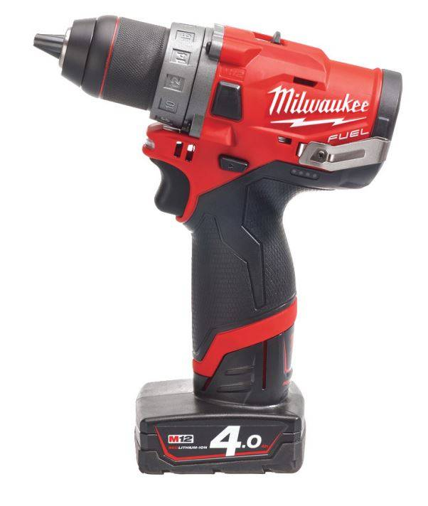Milwaukee Perceuse Visseuse Fuel 13mm 12V 4Ah M12 FDD-402X MILWAUKEE - 4933459818