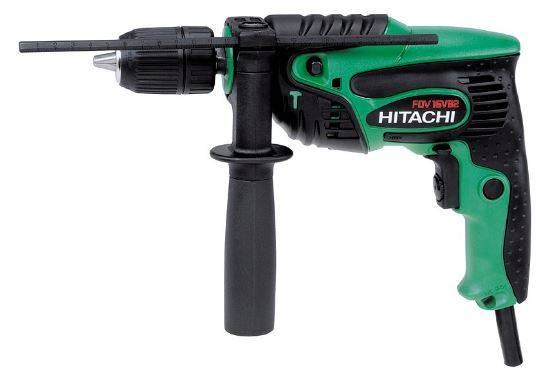 Hitachi Perceuse à percussion HITACHI 550W 10Nm - mandrin autoserrant 13mm (U3) - FDV16VB2
