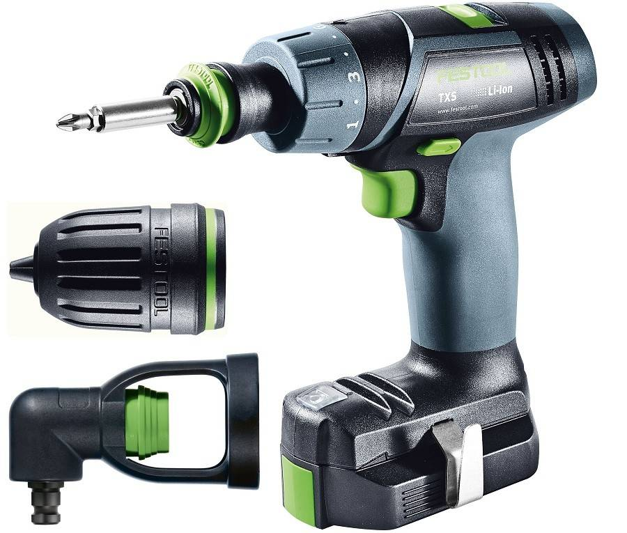 Festool Perceuse Visseuse FESTOOL 10.8V TXS SET - 564510