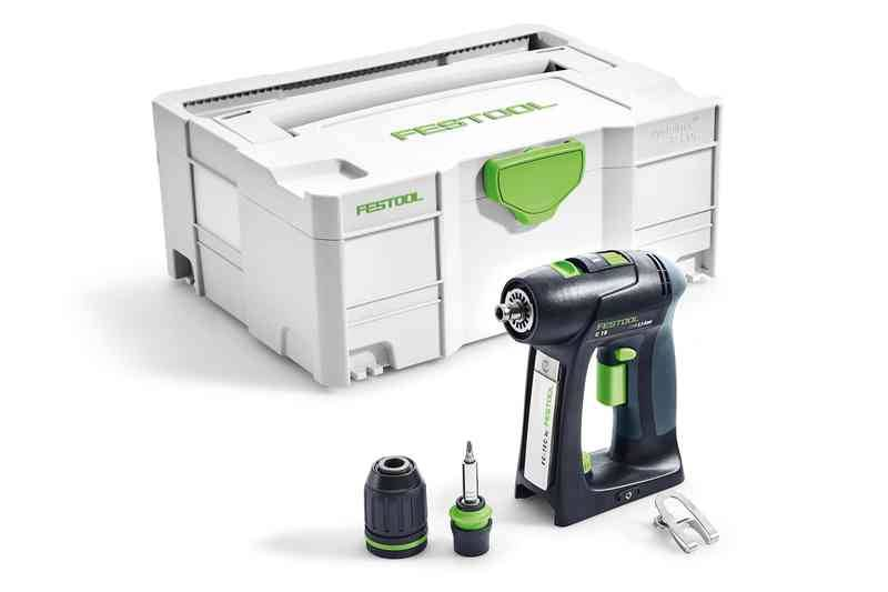 Festool Perceuse visseuse FESTOOL sans fil C 18 Basic - Sans batterie, ni chargeur - 574737