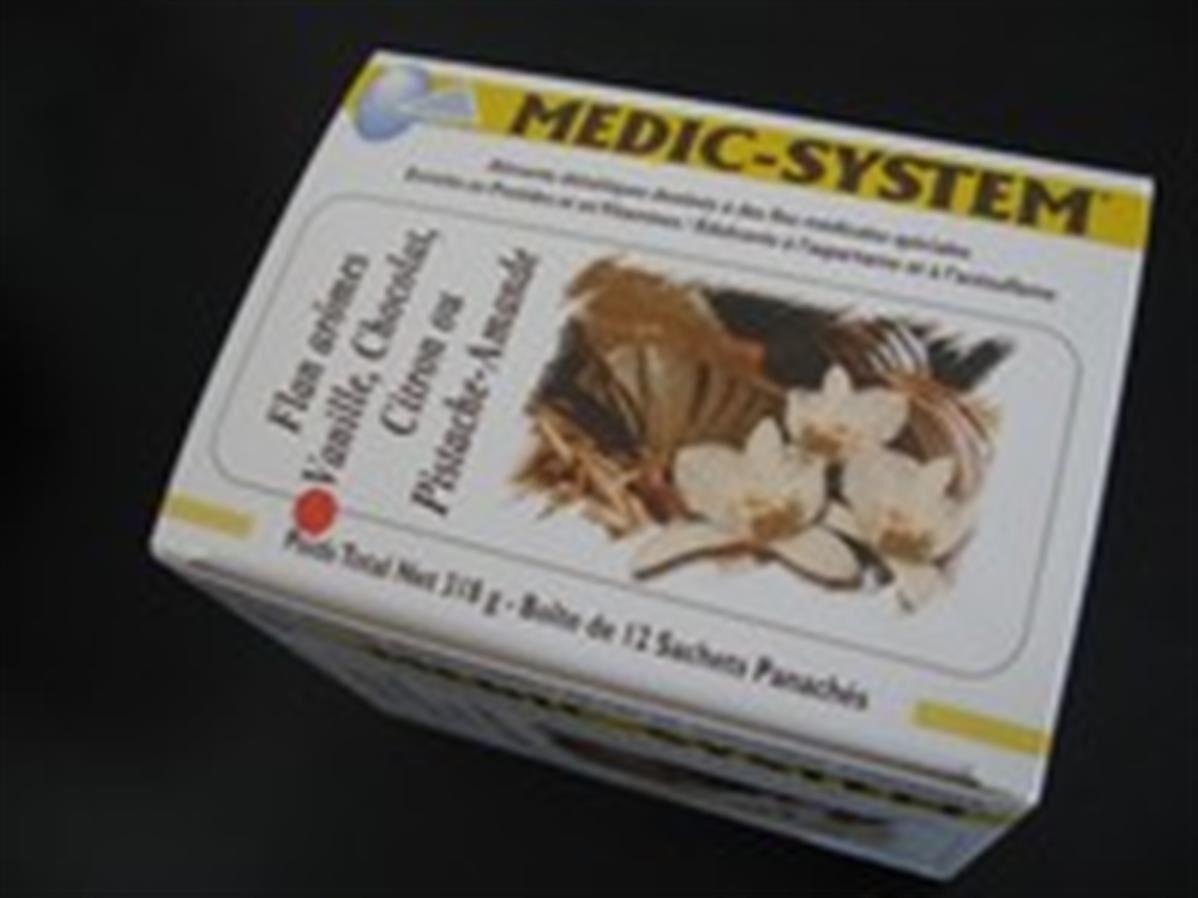 Medic-system Flans Hyperprotéinés Caramel, Café