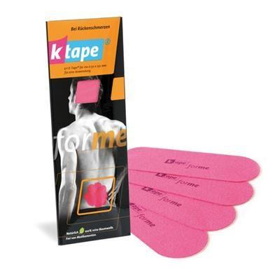 KTAPE K-Tape® For Me dos avec mode d'emploi