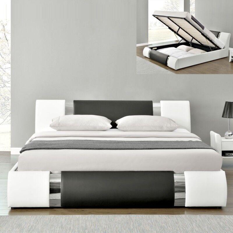 Lit coffre design ATLANTIC - Tailles - 140x190