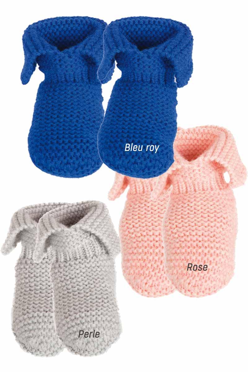 Missegle Chaussons laine bébé