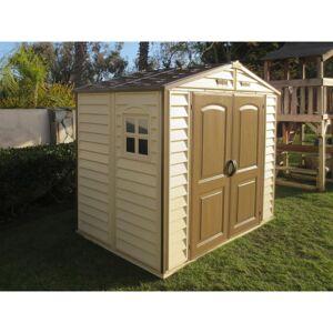 Duramax Abri de jardin en PVC WoodStyle Premium 4,13m² Duramax - Publicité
