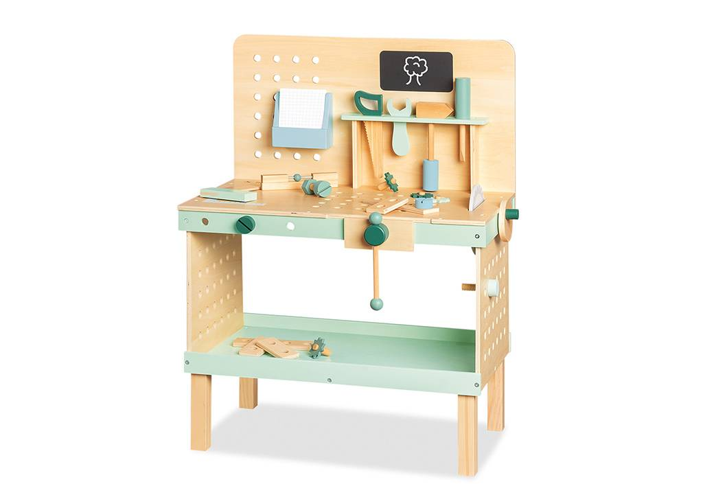 Pinolino Etabli Enfant en Bois avec Outils – Jupp