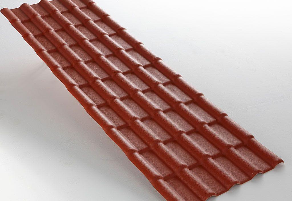 Dhaze Plaque PVC Imitation Tuiles 218 x 74 cm (Pls coloris)